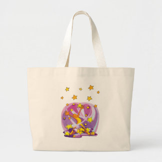Jumbo Tote with Happy-Happy Jy-Joy Star Gazer!