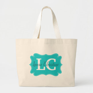 Jumbo Tote with name