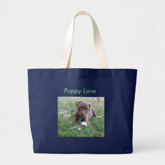 Jumbo Tote with Pit Puppy
