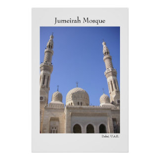 Jumeirah Mosque Poster