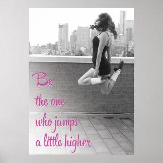 Jump a Little Higher Ceili Moore Irish Dance Poster