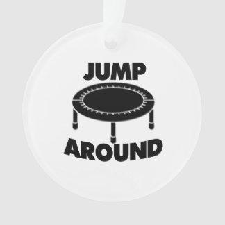 Jump Around Trampoline Ornament