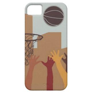 Jump Ball (Basketball) - iPhone 5 Case