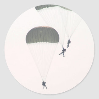 jump classic round sticker