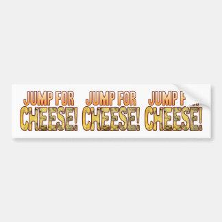 Jump For Blue Cheese Bumper Sticker