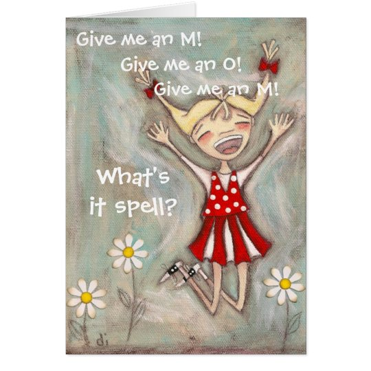 Jump for Joy - Mother's Day Card
