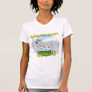 Jump for Joy Schnauzer T-Shirt