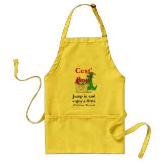 Jump in and enjoy a little Cajun F... Standard Apron