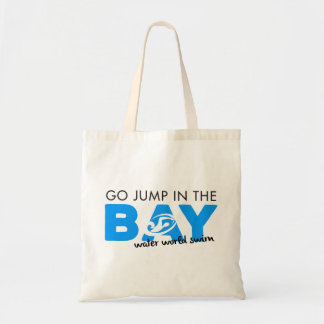 Jump in the bay tote