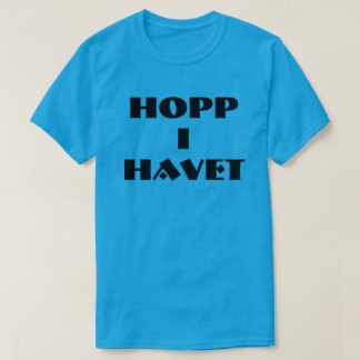 jump in the sea in Norwegian blue T-Shirt