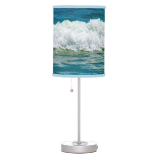 Jump Into the Waves Lampshade Table Lamp