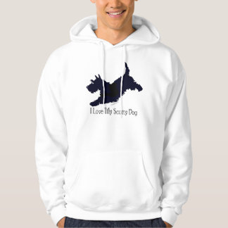 Jump!  Scottish Terrier on the Go Hoodie