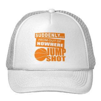 Jump Shot From Nowhere Trucker Hat