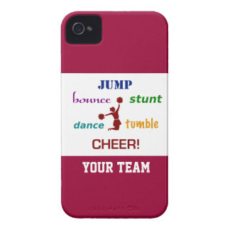 Jump Stunt Bounce Cheerleader iPhone 4/4S Case