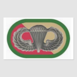 Jump Wings on 528th Sustainment Bde Oval Stickers