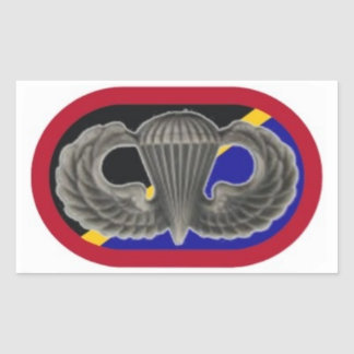 Jump Wings on Spec Ops Aviation Cmd Oval Stickers