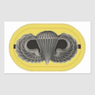 JUMP WINGS/OVAL 1ST BN 509TH INFANTRY STICKERS
