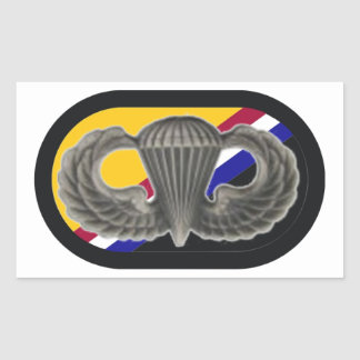JUMP WINGS/OVAL U.S. SPECIAL OPS COMMAND STICKERS
