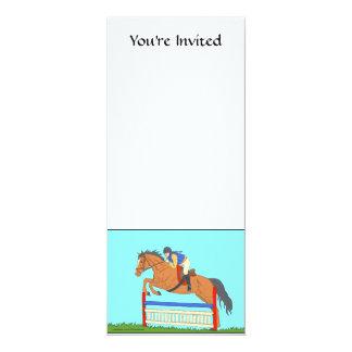 """Jumper 4"""" X 9.25"""" Invitation Card"""