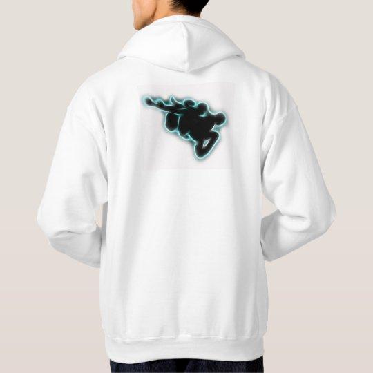 Jumper silhouette hoodie