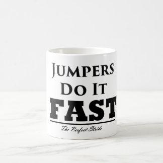 Jumpers Do It Fast Mug