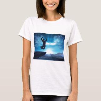Jumping Businessman Success Concept T-Shirt