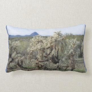 Jumping Cactus in Orion Accent Lumbar Pillow