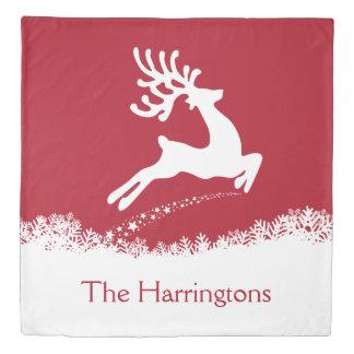 Jumping Deer custom name duvet covers