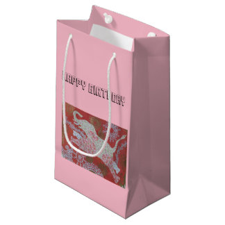 jumping elephant gift bag