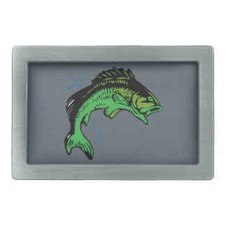 Jumping Fish Belt Buckle