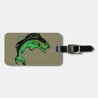 Jumping Fish Luggage Tag