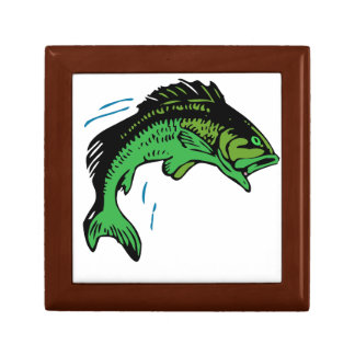 Jumping Fish Trinket Box