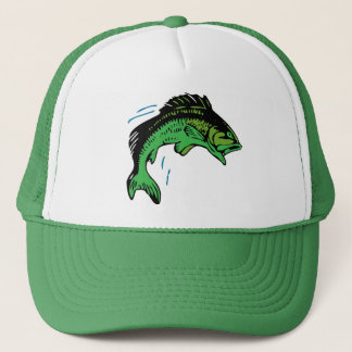 Jumping Fish Trucker Hat