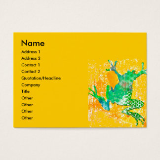 Jumping Frog Business Card