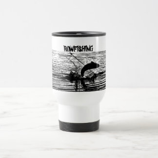 Jumping Grass Carp - Travel Mug
