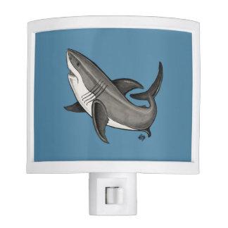 Jumping Great White Shark Night Lites