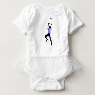 Jumping High for a Grab Baby Bodysuit