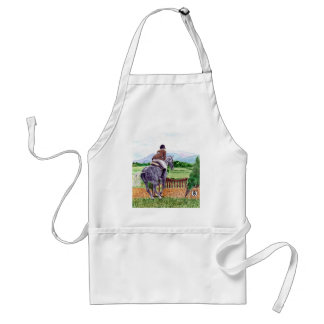 Jumping Horse Apron