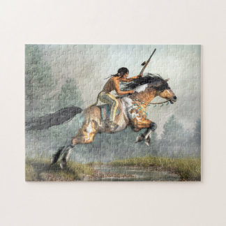 Jumping Horse Jigsaw Puzzle