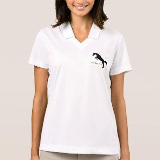 Jumping horse polo shirt