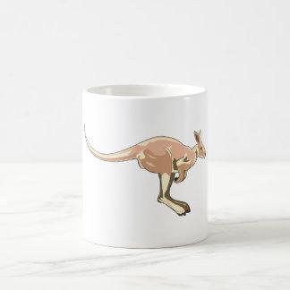 Jumping Kangaroo Coffee Mug