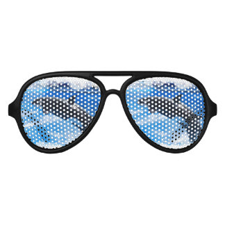 Jumping Orca Whale Sunglasses