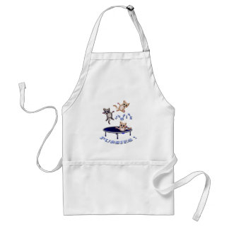 jumping pussies standard apron