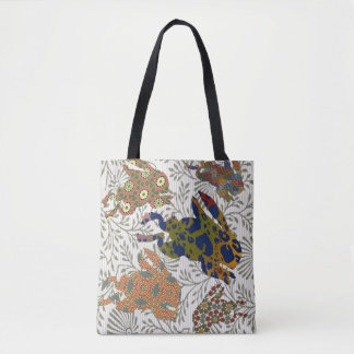Jumping Rabbits Tote Bag