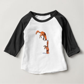 Jumping Red Fox Baby T-Shirt