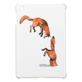 Jumping Red Fox iPad Mini Cover