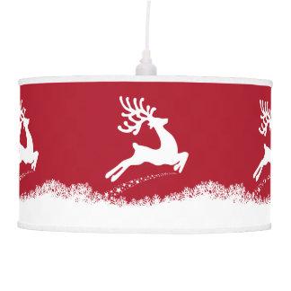 Jumping Reindeer lamp