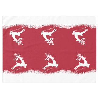 Jumping Reindeer table cloth
