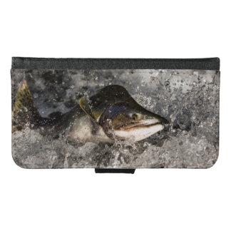 Jumping Salmon Samsung Galaxy S6 Wallet Case