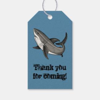 jumping shark gift tags